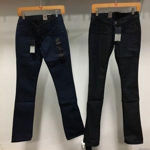 NWT BLEULAB Reversible Jegging denim jean stretch